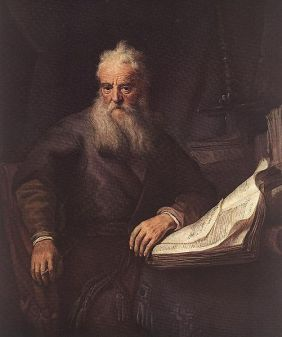 Apostle Paul no copyright Rembrandt painting