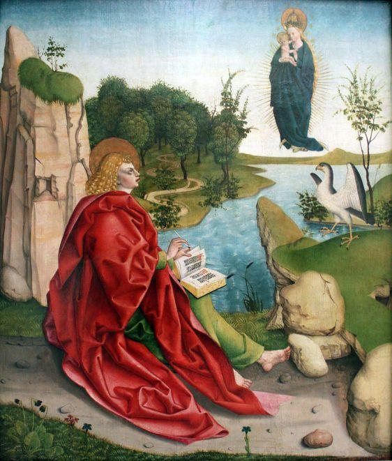 Saint john artist Sigmund Gleismüller (1449-1511) no copyright