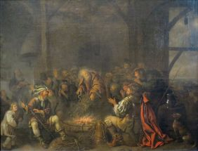 The Apostle Paul on the Island of Melit by Jan Miense Molenaer, Pushkin Museum no copyright